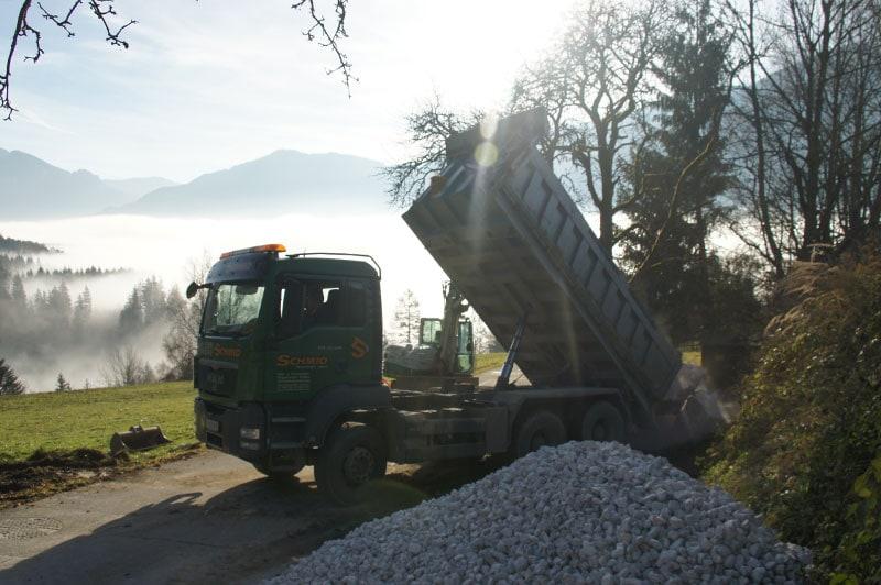 Referenzen | 1 transport kalksteine ardning