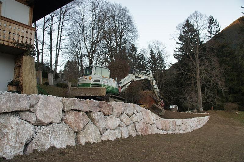 Referenzen | 6 natursteinmauer kalkstein ardning