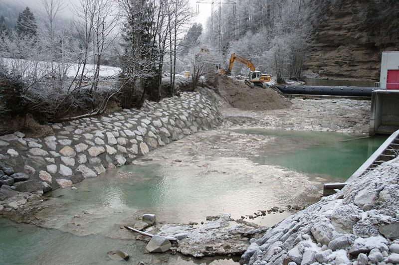 Referenzen | 7 verbauung wildbach kraftwerk st pankraz