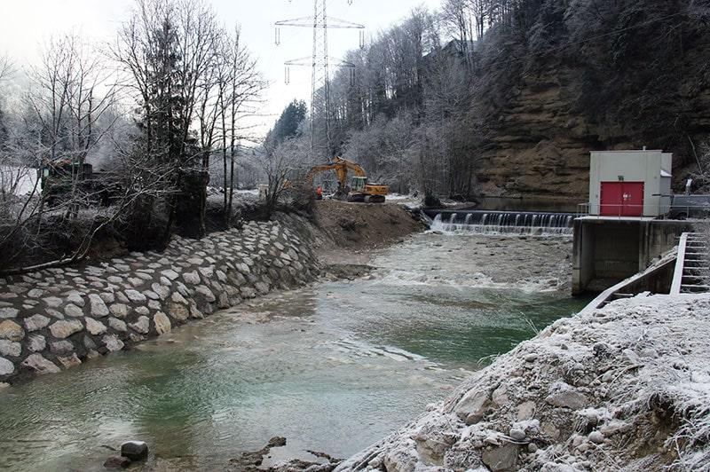 Referenzen | 8 sanierung wildbachverbauung kraftwerk st pankraz
