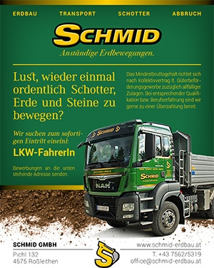 Jobs | Schmid Stelleninserat LKWFahrer 300x376 14Juli21 1