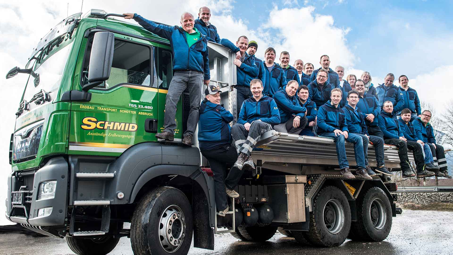 Home | schmid erdbau team sucht LKW